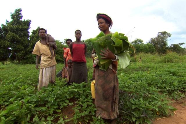 Women in Gwero village, Kayunga district, Uganda