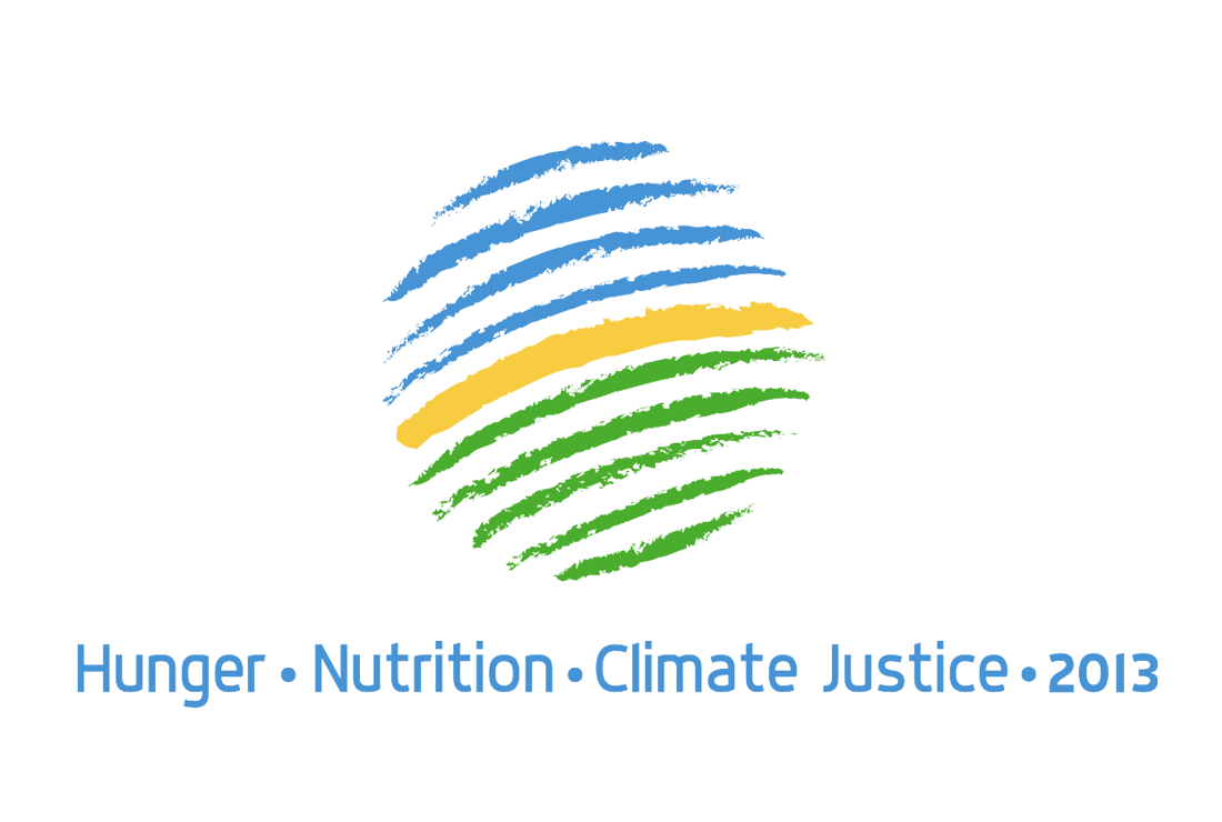 Opening of Hunger – Nutrition – Climate Justice Conference 2013