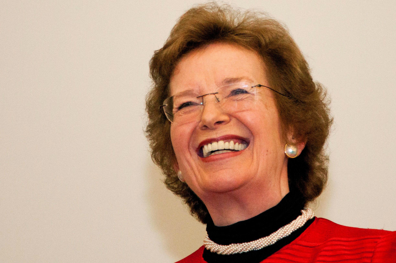Mary Robinson Gives Inaugural Wangari Maathai Lecture