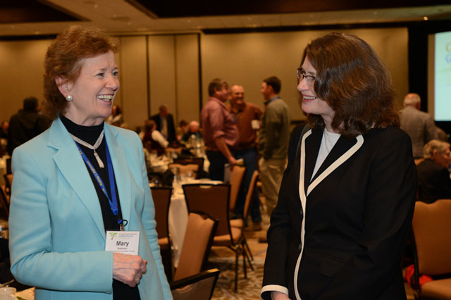 Mary Robinson Gives Keynote Address at Global Food Systems Forum