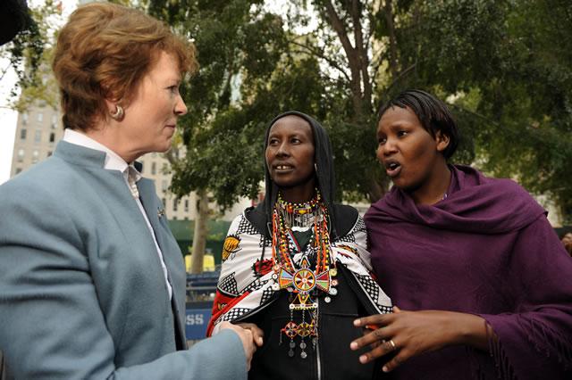 Mary Robinson establishes a new Foundation in Ireland