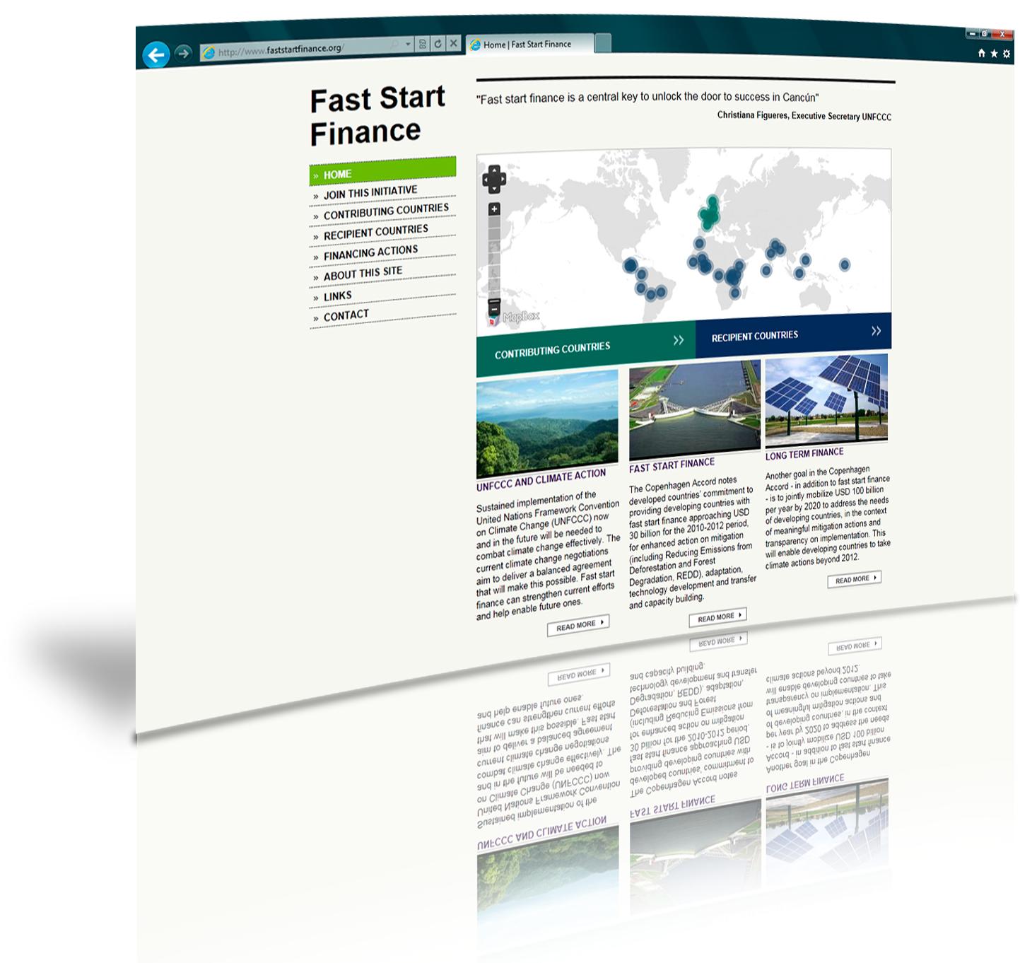 New Climate Finance Website: FastStartFinance.org