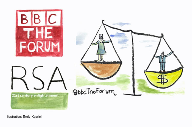 Mary Robinson guest presents BBC The Forum