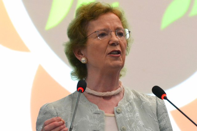 Mary Robinson delivers keynote address at Agriculture and Rural Development Day at Rio+20