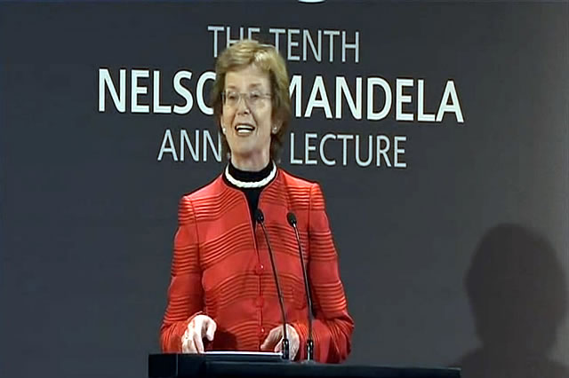 Tenth Nelson Mandela Annual Lecture