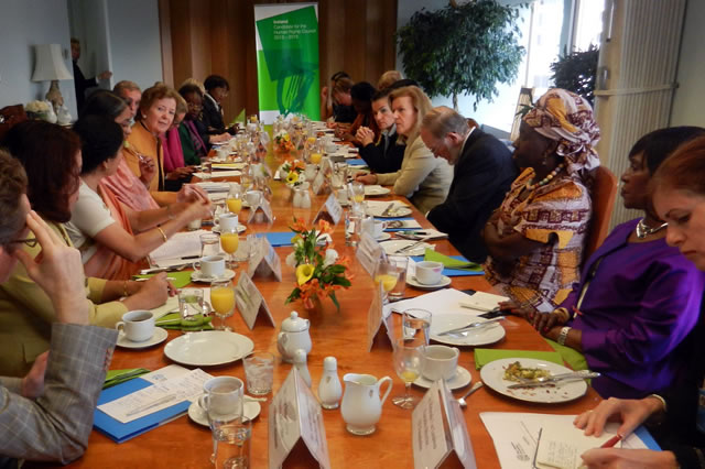 International Leaders Pledge Action on Gender Parity in UN Negotiations on Climate Change