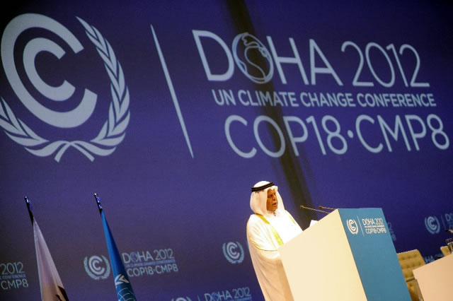 COP18/CMP8 opens in Doha, Qatar