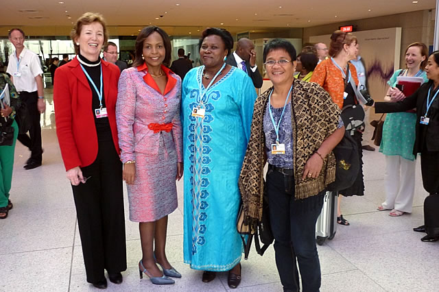 The Foundation on Gender Day at COP 18