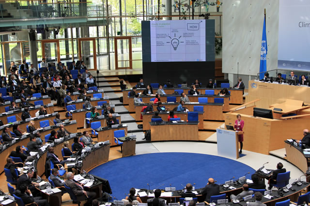 Blog: Positive atmosphere in Bonn  for climate agreement discussions