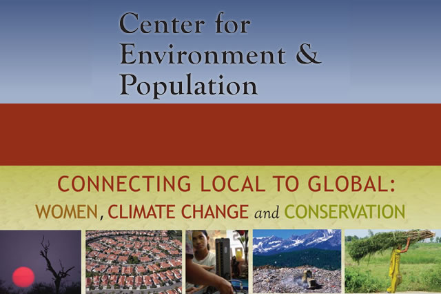 Connecting Local to Global: Women, Climate Change and Conservation