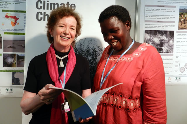 The Foundation meets African climate campaigners