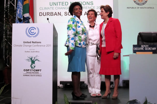 Women and Climate Change – Foundation side event at COP17