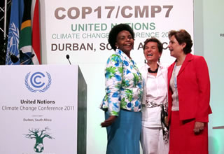 Women Leaders Can Turn Commitments on Climate Change and Gender Equality into Action on the Ground