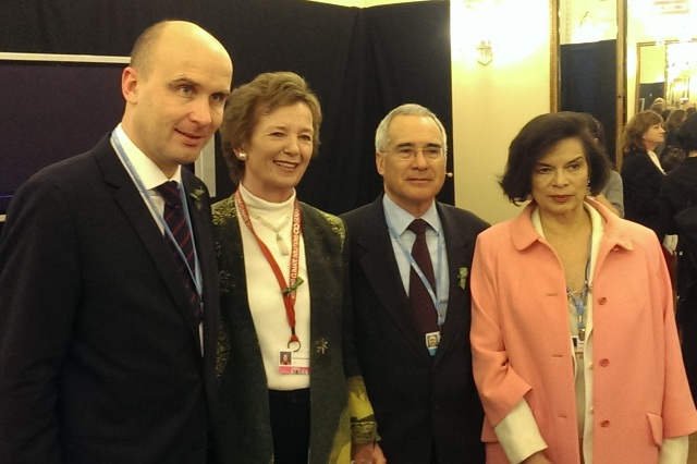 Mary Robinson takes part in Global Adaptation Forum