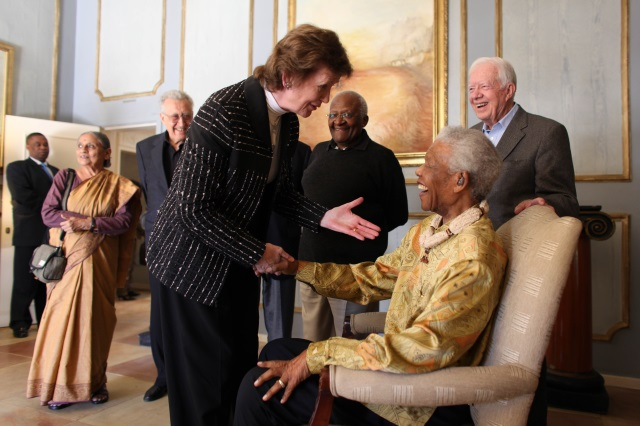Statement from Mary Robinson on the passing of Nelson Mandela