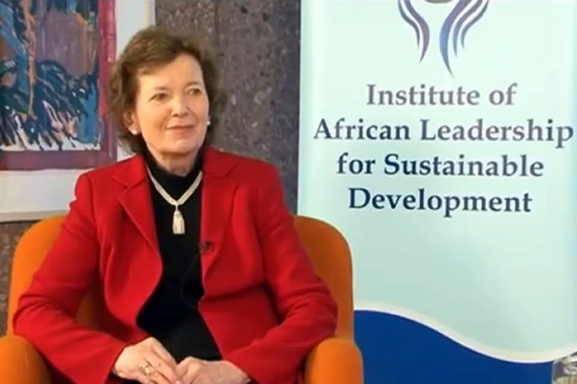 Meet the Leader – Interview with Mary Robinson