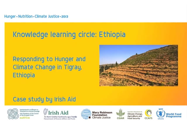 Responding to Hunger and Climage Change in Tigray, Ethiopia