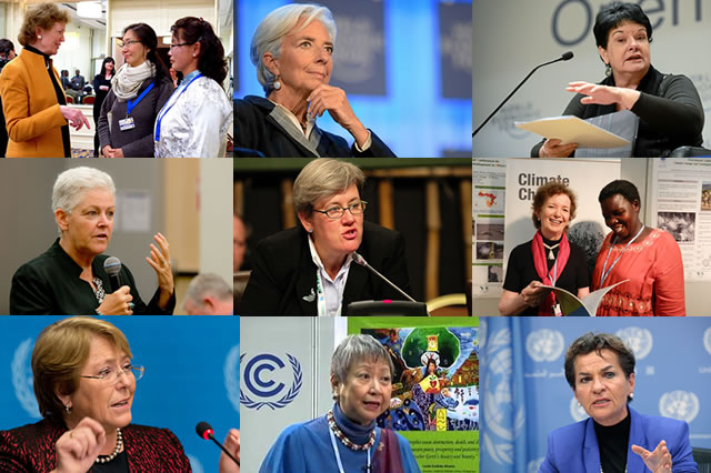 Raising Ambition for Climate Action, Women Lead the Way