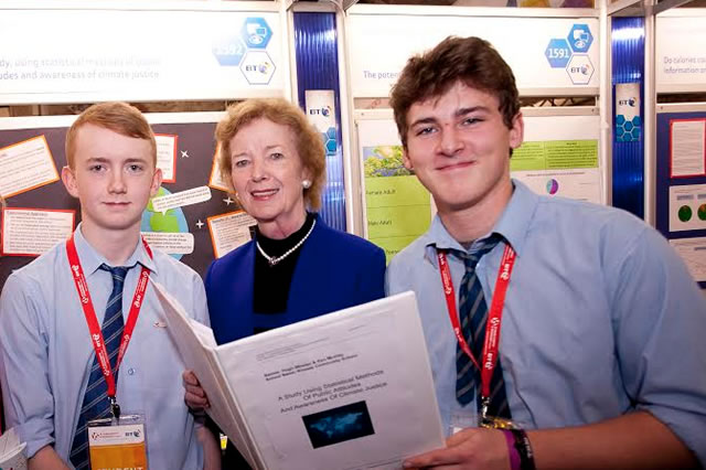 Climate Justice Award created at the BT Young Scientist and Technology Exhibition