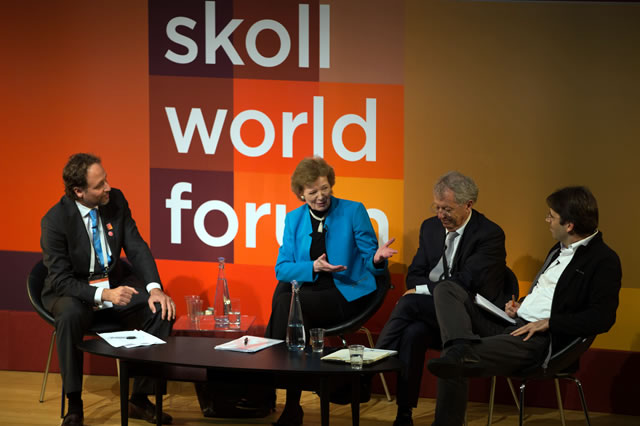 "Skoll World Forum 2015: Panel Session on ""Zero Carbon the Climate Justice Way"""