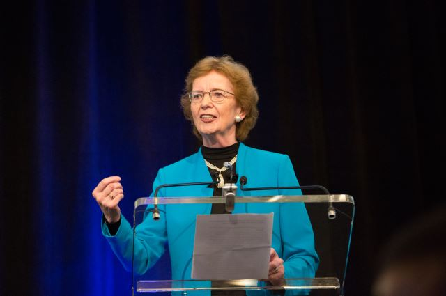 Mary Robinson delivers Keynote Address on the Nexus between the Creative Economy and Green Growth