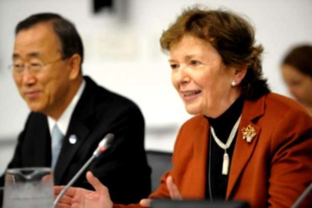Statement by Mary Robinson on her Appointment as United Nations Special Envoy on Climate Change