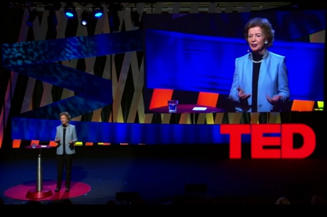 Mary Robinson's TEDTalk on Climate Justice