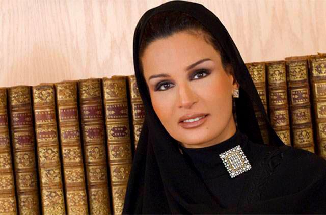 Her Highness Sheikha Mozah Bint Nasser Al Missned