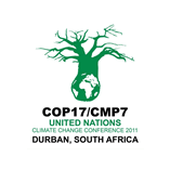 The 17th session of the UN Climate Change Conference was held in Durban, South Africa in 2011.
