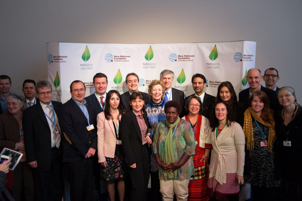 Group_Human Rights Day Breakfast Meeting COP21_Credit Mary Robinson Foundation - Climate Justice