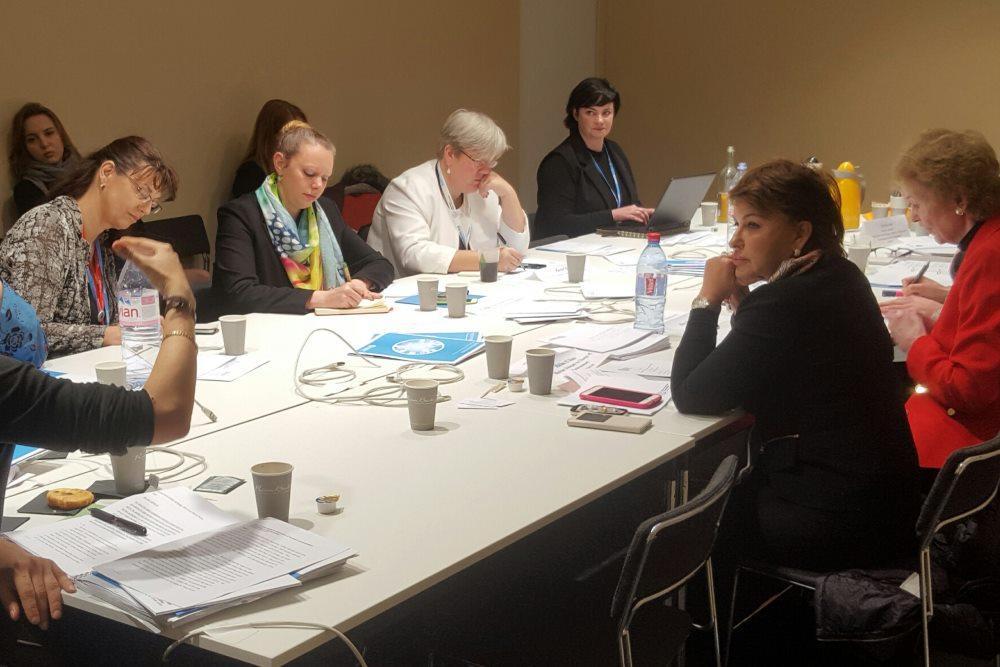 Members of the Troika+ of Women Leaders on Gender and Climate Change met in the margins of COP21 in Paris, 1st December 2015.