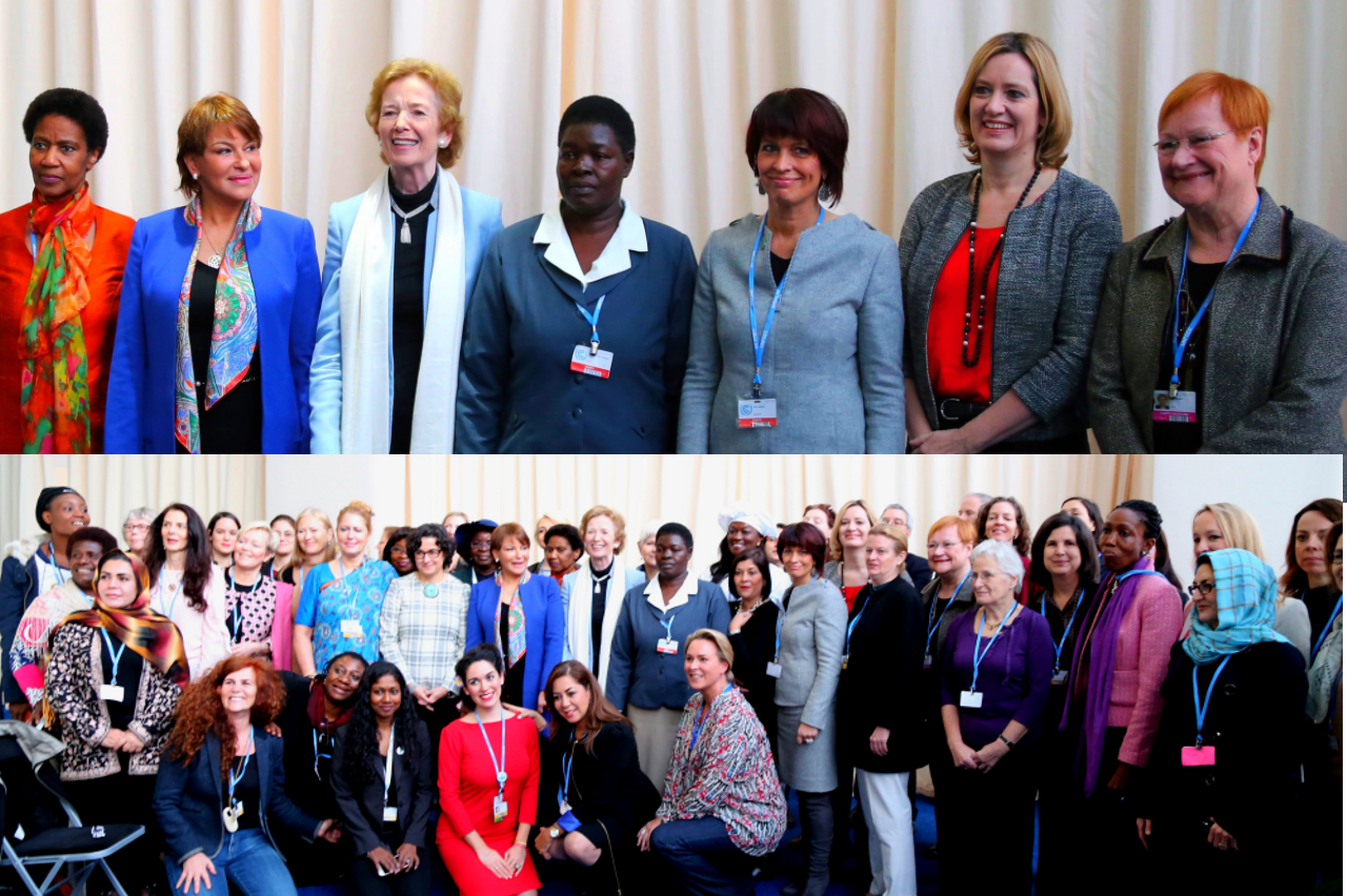 women ministers and leaders network gender day, 8 Dec 2015, photo iucn